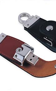 youwo sort brun læder 64GB usb kortikale ringe usb-flashdrev