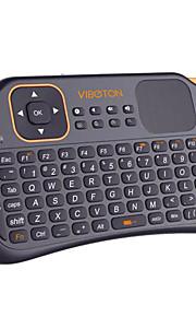mini s1 2,4 g flyve gaming luft mus trådløst tastatur fjernbetjening til pc laptop desktop med touchpad