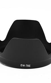 mengs® ew-78e kronblad bajonet modlysblænde til Canon EF-s 15-85mm f / 3.5-5.6 IS USM