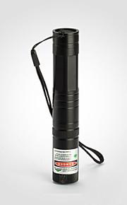 Lommelygte Formet - Grøn Laser-pointer - Aluminium Legering