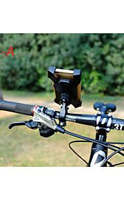 supporto del telefono mountain bike a 360 ° di telefono della bicicletta della strada di rotazione del supporto del PB02-b adatto per 3-7