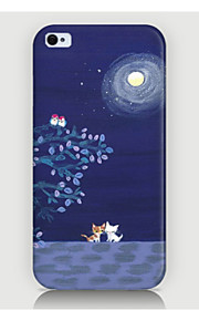 Night View Galaxies Pattern Case Back Cover for Phone4/4S Case