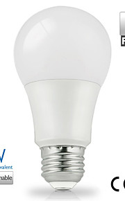 2 stk. Vanlite E26/E27 6 W 14 SMD 5630 500 LM Varm hvit/Kjølig hvit/Naturlig hvit A Globepære AC 220-240/AC 110-130 V