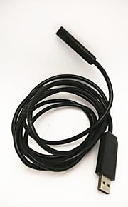 Line 2 meters long, 10mm diameter aluminum waterproof, dustproof endoscope