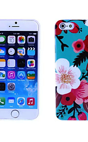 Morning Glory Pattern TPU And IMD Soft Case for iPhone 5/5S