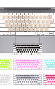 """jrc noi cover trasparente della tastiera del silicone di colore misto per macbook retina 12 """""""