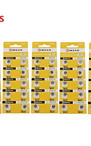 comsan ag4 377 hoge capaciteit knop batterijen (50 stuks)