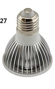 GU10/E26/E27 5 W 1 COB 550LM LM Kjølig hvit PAR Parlamper AC 85-265 V