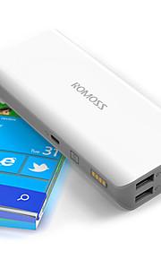 romoss для мобильных устройств зарядки мобильного телефона Treasure 10400 ма sense4