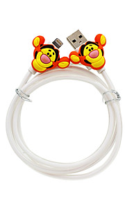 disney tiger Ladekabel für iPhone 5 g / 5s / 5c / 6 / 6plus ipad 2 ipad mini Luft