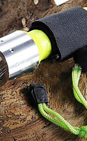 Lanternas LED / Lanternas de Mão LED 3 Modo 1600 Lumens Cree XM-L T6 18650.0Campismo / Escursão / Espeleologismo / Uso Diário / Mergulho