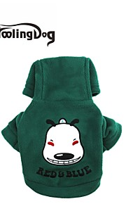 DroolingDog® Lovely Dog Face Pattern Fleeces T-Shirt for Dogs(Assorted Sizes Assorted Colour)