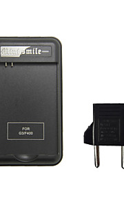 Mini Smile™ US Plug Battery Charger / Charging Dock Station with USB Port and EU Plug Adapter for LG G3 D855 / D851