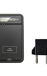 mini Lächeln ™ US-Stecker Ladegerät / Ladestation Station mit USB-Anschluss und EU-Stecker-Adapter für LG g3 d855 / D851