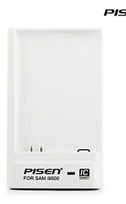 pisen sumsung portatile i9500 caricabatteria ii intelligente caricatore del cellulare ic con spina CA pieghevole e porta usb