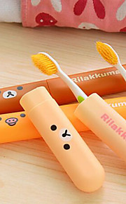 Viagem Protetor/Porta Escova de Dentes Acessórios de Toalete Plástico