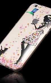iPhone 6 - Övrigt - Blandad färg/Tecknat/Genomskinlig/Ultra Slim ( Multifärgad , TPU )