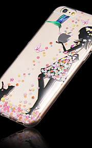 iPhone 6 - Overige - Gemengde Kleur/Cartoon/Transparant/Ultra Slim ( Multi-kleur , TPU )