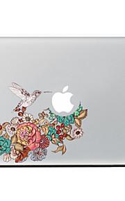 ekster bloemen decoratieve skin sticker voor MacBook Air / Pro / Pro met Retina-display