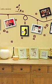 multifunções pvc diy aumentou adesivos decorativos