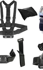 6-in-1 Gopro Accessory kit for Gopro hero4/3+/3/2/1 Sj4000 SjCAM Sj5000