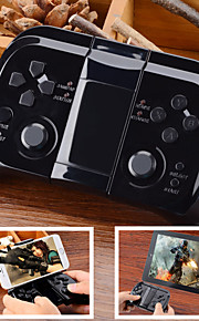 Universal Wireless Bluetooth Gamepad Controller for iOS / Android Cellphone & Tablet - Black