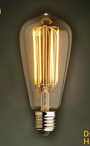 ecolight® Ecolite tm e27 ledet 4w 3700K varm hvit loft retro industrien pære førte Edison pære (AC220 ~ 265V