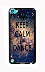Keep Calm and Dance Design Aluminum High Quality Case for iPod Touch 5