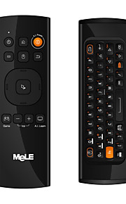 Ourspop New MeLE  F10 Lite 2.4GHz G-sensor IR Learning Fly Keyboad Mouse Wireless Remote Control Keyboard