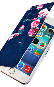 rosor magnetisk flip hela kroppen fallet med hål för iphone 6 plus