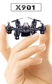 MJX X901 nano rc Quadrotor zangão 2,4 g de controle remoto mini-drones uma chave Flip 3D helicóptero 6 eixo rtf