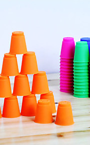 12 יח '/ סט flyingcup הקטן (4 x 4.5 x 2.5cm צבע אקראי)