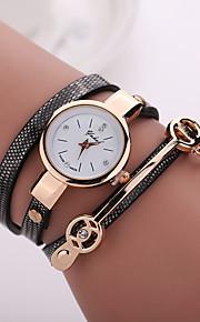 Mulheres Relógio de Moda Quartzo PU Banda Boêmio Preta Azul Vermelho Laranja Bege Marron Vermelho Azul Azul Claro