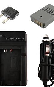 el24 850mAh kamera batteri + eu stik + billader til Nikon 1 J5