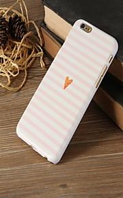 roze liefde patroon achterkant van de behuizing voor de iPhone 6