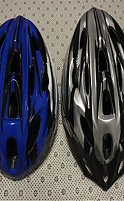 Outdoor Cycling Light a Integrated Protection Helmet Grey Blue.