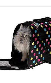 FUN OF PETS® Colored Dots Portable Folding Travel Carrier Bag for Pets Dogs and Cats Sizes S