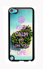 Keep Calm Design Aluminum High Quality Case for iPod Touch 5