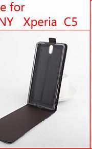 cuir flip étui de protection magnétique pour Sony Xperia c5 (couleurs assorties)