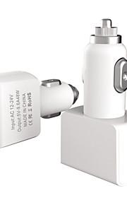 48w 4 ports chargeur de voiture USB