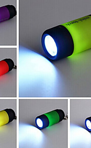 Minikeychain Taschenlampe USB aufladbare LED-Nachtlicht (zufällige Farbe)
