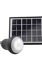 pandeng 200lumens super lyse gummiert matt sort materiale solenergi pære mobiltelefon lading