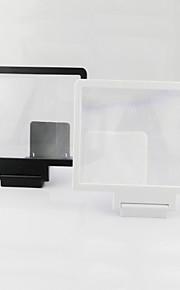 3D1 2x ingrandita dello schermo per iPhone6 / 6plus / 5s / 4s / 5 di Samsung S4 / 5 htc e altri dispositivi mobili (nero / bianco)