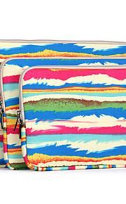10 '' 11 '' 12 '' 13''14 '' 15''abstract Regenbogen-Muster Tragetasche Computer Schutzhülle