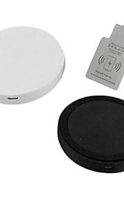 chargeur sans fil i-wc-wc1-IP définie pour iPhone6 / 6plus / 5s / 5 (noir / blanc)