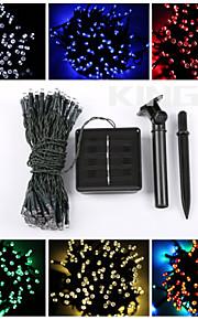 12m 100led solenergi streng lys juledekorasjon lys vanntett lights