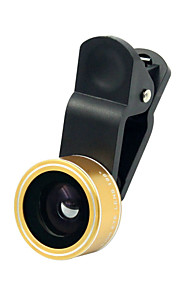 3 in 1 Fish Eye Macro 0.63X Wide Angle Lens for Phone