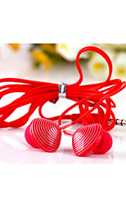 KEEKA High Quality 3.5mm Noise-Cancelling Mike In Ear Earphone for iPhone and Other Phones(Assorted Colors)