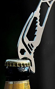 Fashion Stainless Steel Bottle Opener/Wrenches/Rope Buckle Multitools Camping/Outdoor