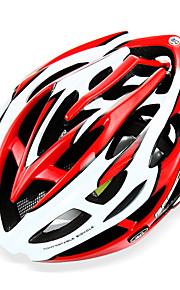Горные - Универсальные - Велосипедный спорт / Горные велосипеды - шлем ( Белый / Красный / Чёрный / Синий / Оранжевый ,Пенополистирол /